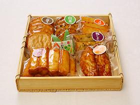【真空パック】さつま揚げセット 竹かご(6種類26個入)