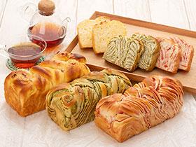 【冷凍】フラワーパン3本セット