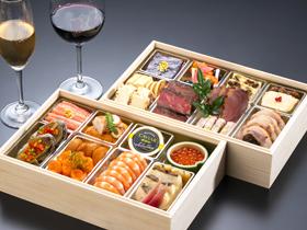 フランス料理 ル シエル 洋風おせち 二段重【配送地域限定商品】