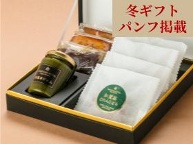 オリジナル焼菓子と知覧茶CHAOどら・ジャムセットA