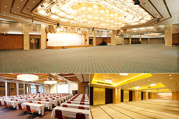 Conference and banquet rooms